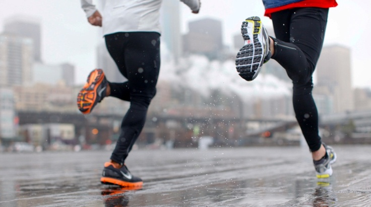 biegaj w deszczowe dni