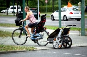 fotelik rowerowy przyczepka rowerowa