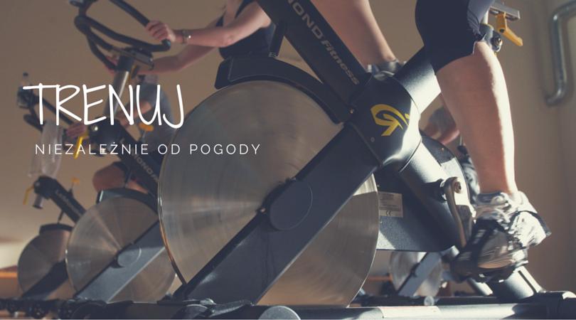 trenuj na rowerze stacjonarnym