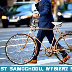 Zamiast samochodu, wybierz rower